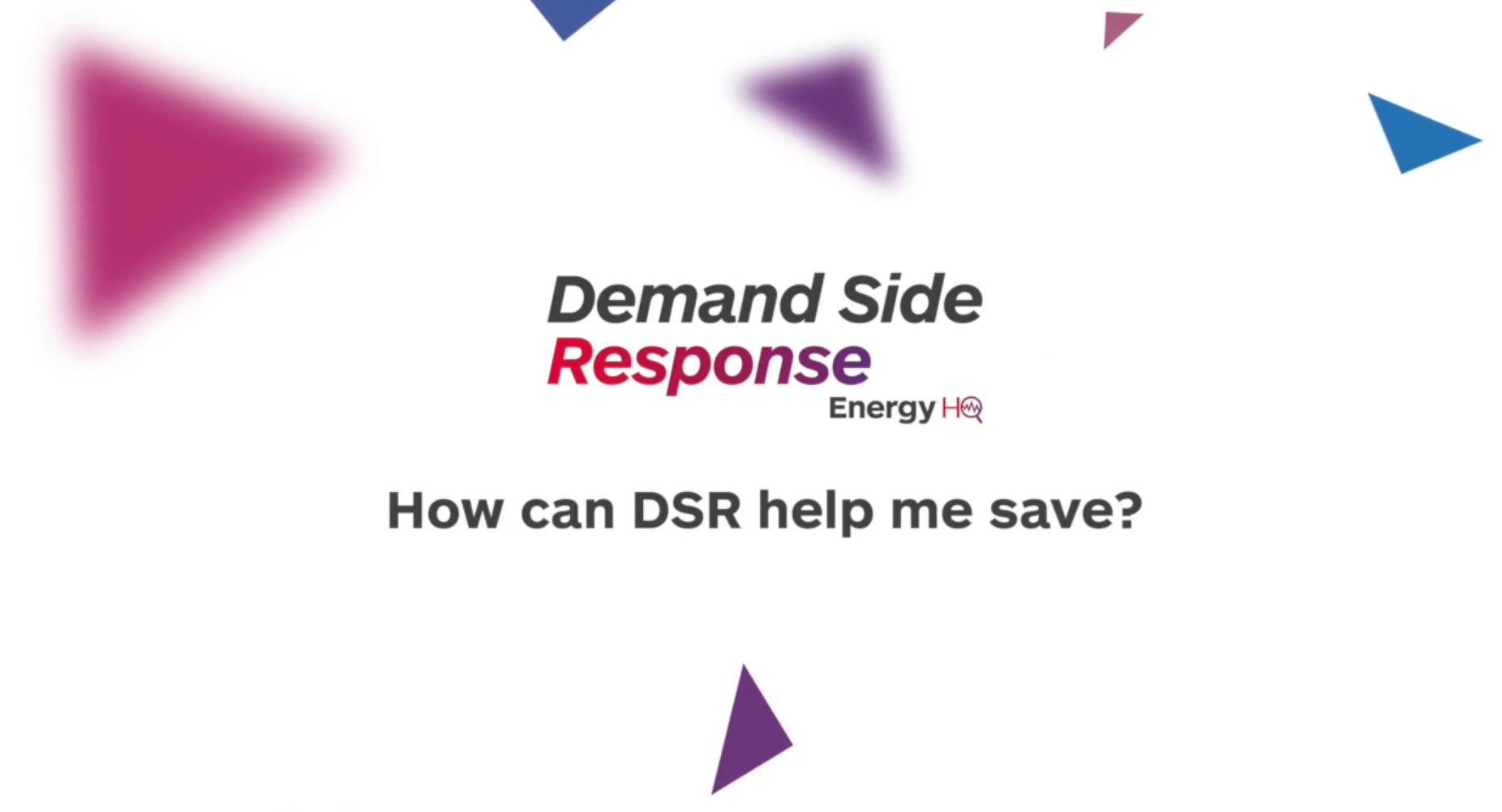 How can DSR help me save?