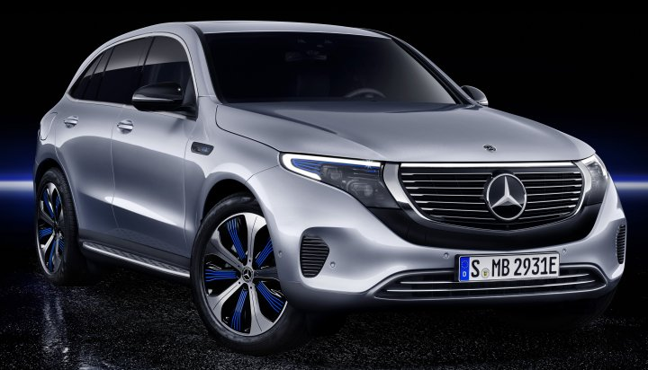 Mercedes Benz First All Electric Car Gets Ready For The