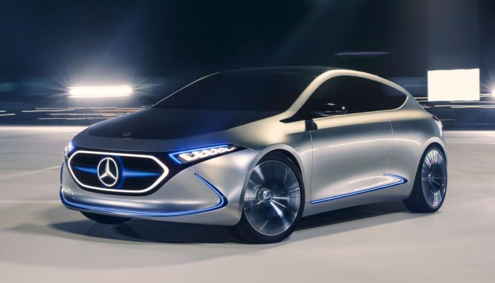 Mercedes Benz EV