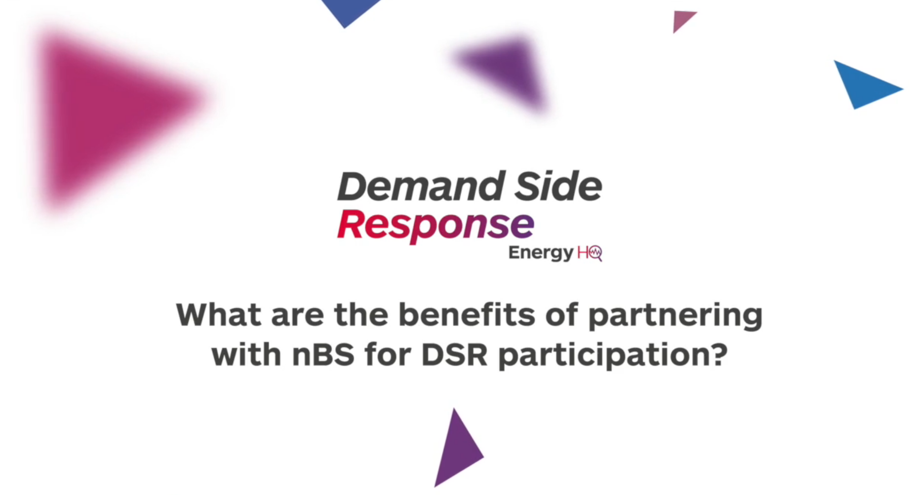 What are the benefits of partnering with nBS for DSR participation?