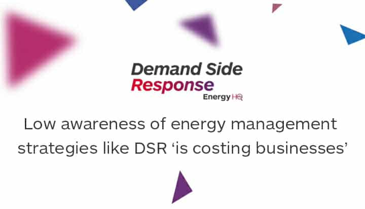 Low awareness of energy management strategies like DSR 'is costing businesses'