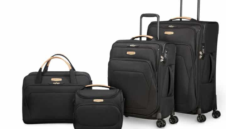 Samsonite sustainable suitcases