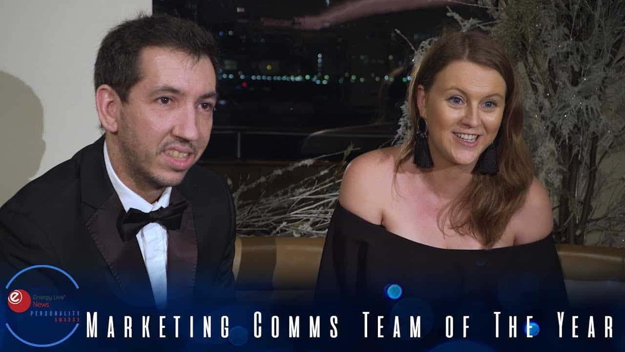 GridBeyond scoops the Marketing Comms Team of the Year award