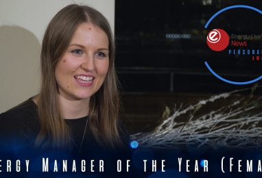Carys Charlesworth wins Energy Manager of the Year (Female)
