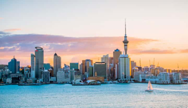 The city of Auckland