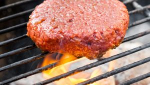 Meat-free burger cooks up 90% less emissions