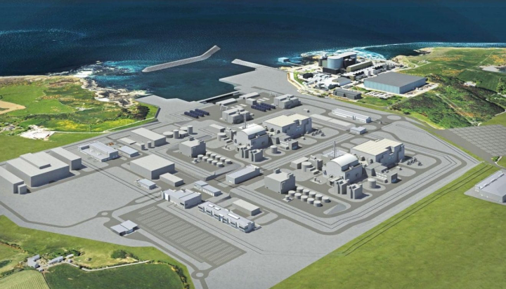 Wylfa Newydd nuclear plant