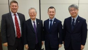 Welsh Secretary in Japan to discuss nuclear with Hitachi