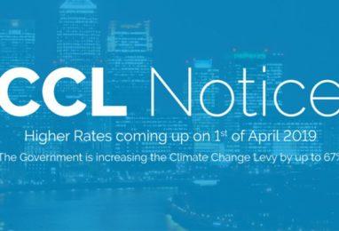 CCL Increasing in April 2019