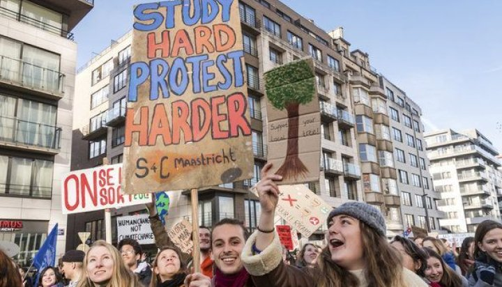 Student protest in Europe