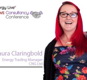 Laura Claringbold, Energy Trading Manager, CNG Ltd