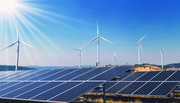 Wind and solar infrastructure