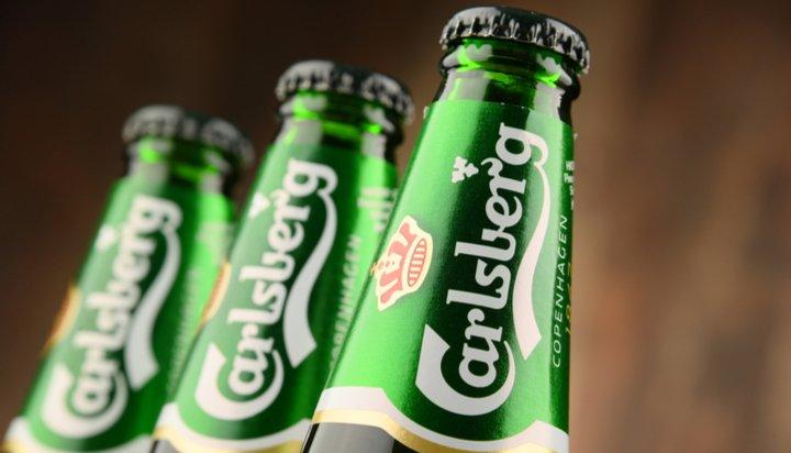 Carlsberg bottles