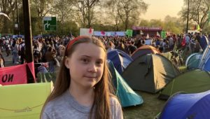 Greta Thunberg: 'Lowering emissions not enough – they need to be stopped'