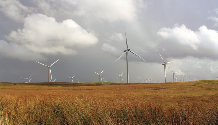 Onshore wind farm