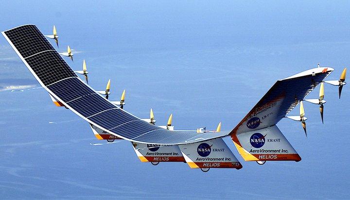 Solar HALE UAV