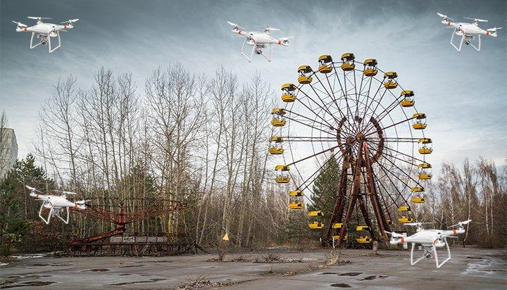Chernobyl drone