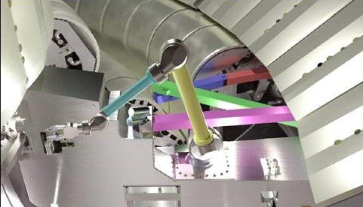 Divertor remote handling system