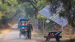 India invests more in solar than coal for first time