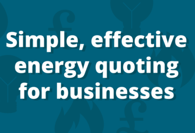 Are You Set Up to Quote for Business Energy 24/7?