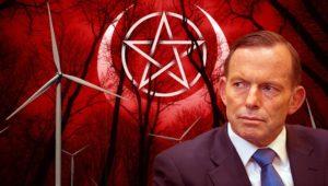 Tony Abbott brands wind turbines 'dark satanic mills of the modern era'