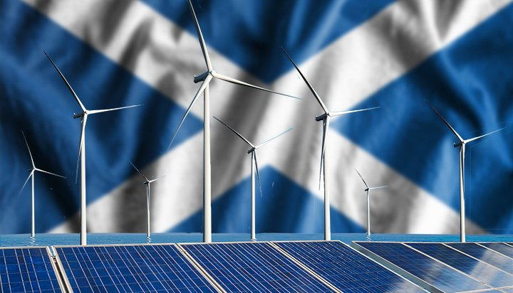 Scotland 'will soon generate 100% of its power through renewables'