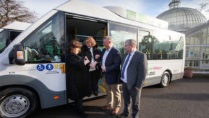 Glasgow's 'first' all-electric minibuses hit the road
