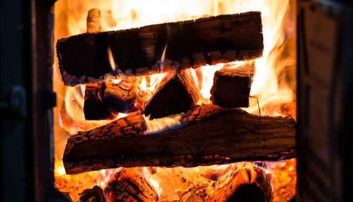 Domestic Coal And Wet Wood Burning To