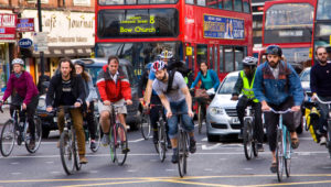 Public transport, walking and cycling 'need to become primary forms of travel'
