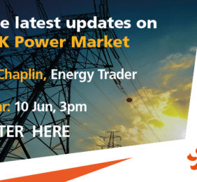 What's driven the recent drastic shift in UK power prices?