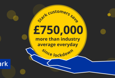 Stark customers reduce energy use by 50% more than the average business in lockdown