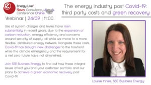 Webinar: The energy industry post Covid-19: third party costs and green recovery