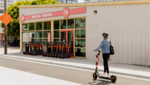 Ford-owned electric scooter company spins a carbon negative pledge