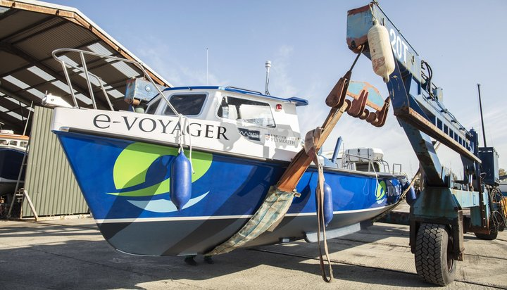 e-voyager, Maiden Voyage for 'UK's first' Sea-Going Electric Ferry, the e-Voyager, Innovolo Ltd