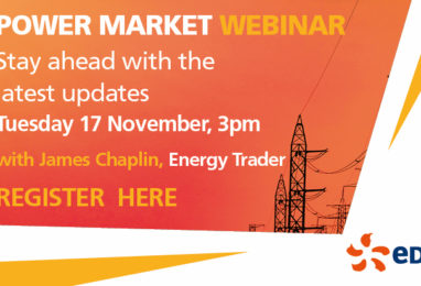 What's happening with the UK power market?