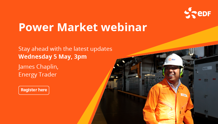 Post-winter prices, Carbon, LNG supply – EDF's James Chaplin explains what's affecting the UK Power Market this summer