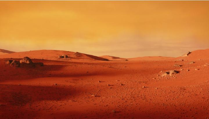 Breathe in Martians!