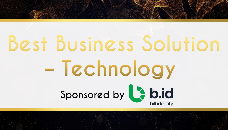 Award Sponsor - Bill Identity - Best Business Solution – Technology
