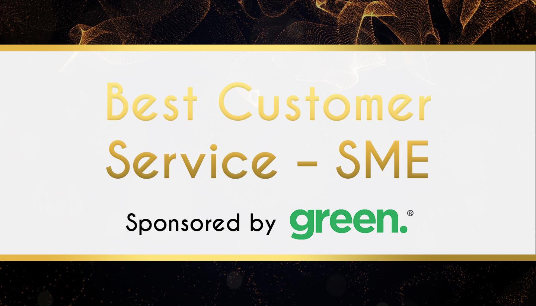 Award Sponsor - GREEN - Best Customer Service – SME
