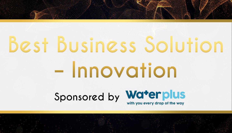 Award Sponsor - Waterplus - Best Business Solution – Innovation