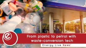 From plastic to petrol with waste-conversion tech