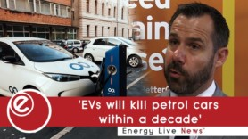 EVs and traditional cars 'to reach parity within decade'