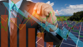 Clean energy investment falls by 10% year-on-year