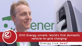 OVO Energy unveils domestic vehicle-to-grid charger