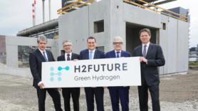 Work starts on 'world's largest' hydrogen pilot facility