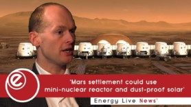 'Mars settlement could use mini-nuclear reactor and dust-proof solar'
