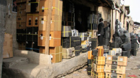 EU e-waste 'being illegally shipped to Nigeria'