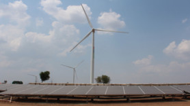 India's 'first' solar-wind hybrid project goes live