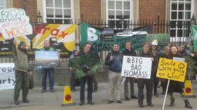 Drax hit with a double environmental protest