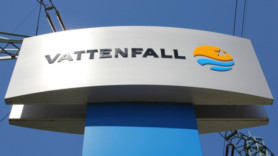 Vattenfall battery and wind installation goes into operation